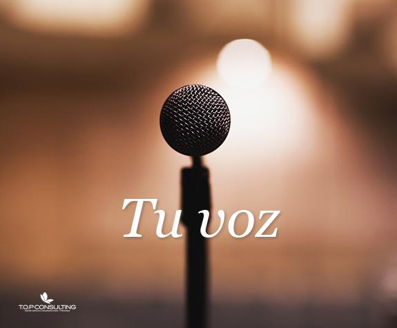Tu voz